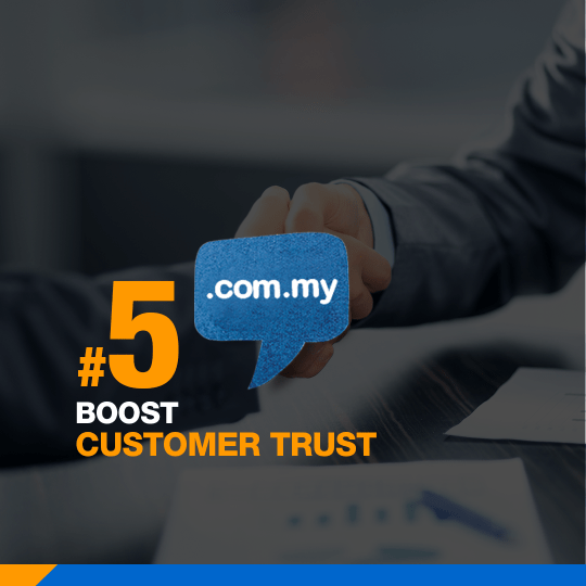 Mynic Domain Boost Customer Trust