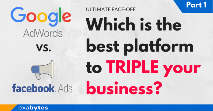 Google Ads vs Facebooks Which is the best platform to TRIPLE your business