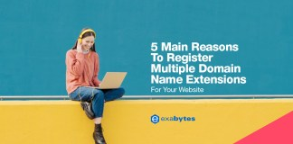 5 Main Reasons to Register Multiple Domain Name Extensions for Your Website