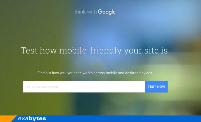 The NEW Google TestMySite tool. Can Your Website Pass the Test?