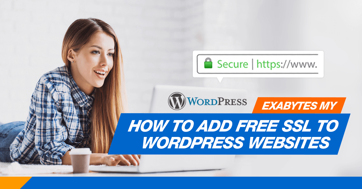 Free SSL for wordpress