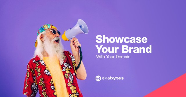 Showcase your BRAND with your domain!