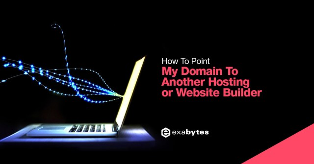 How to point my domain to another hosting / website builder