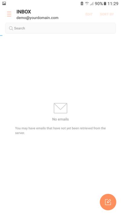 email setup device