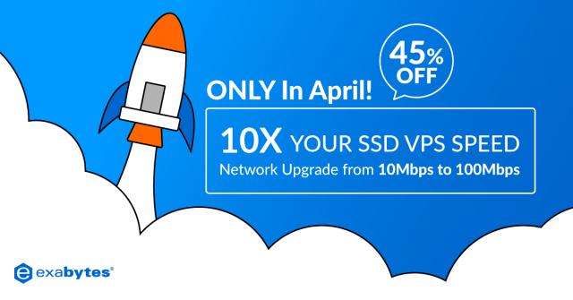 SSD VPS speed