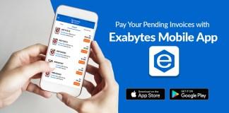 Exabytes Mobile App