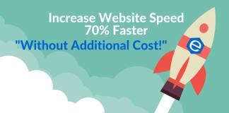 Increase website speed
