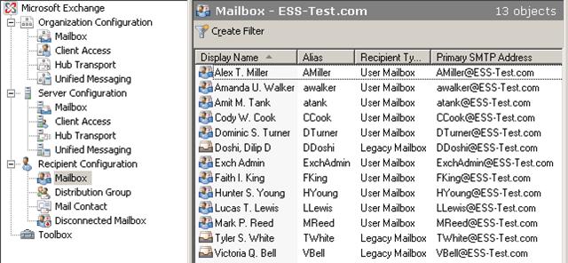 email display name