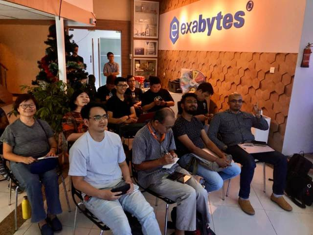 WordPress Meetup in Exabytes