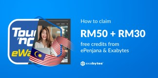 how to claim RM80 from Exabytes and ePenjana