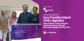 Exabytes Customer Success Stories : Dwebly