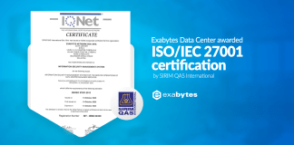 ISO270001 certification
