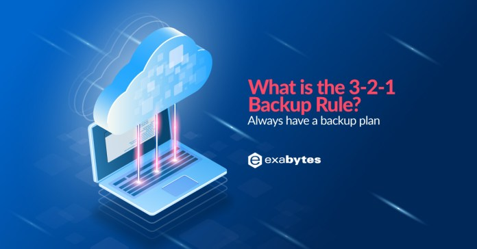What is the 3-2-1 backup rule