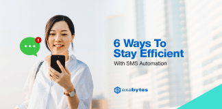 6 Ways To Stay Efficient With SMS Automation
