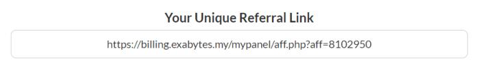 Exabytes Malaysia Refer a Friend - Referral Link