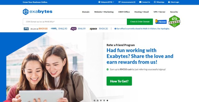 10 Best Affiliate Programs in Malaysia – EASY To Promote, LESS Expensive & PAY High Commissions [Exabytes Affiliate Program]