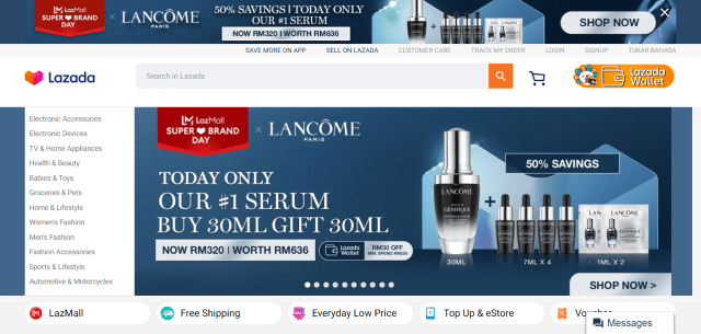 best-online-shopping-sites-in-malaysia-lazada