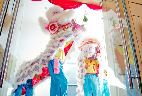 Exabytes Lion Dance 2013