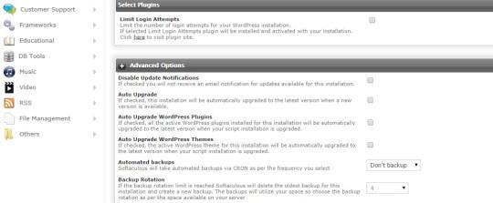 softaculous wordpress installation tutorial