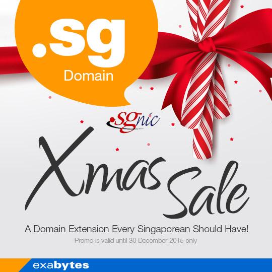 .sg domain xmas sale