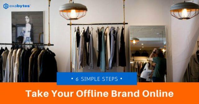 take your offline brand online