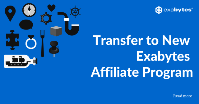 Transfer to New Exabytes Affiliate Program