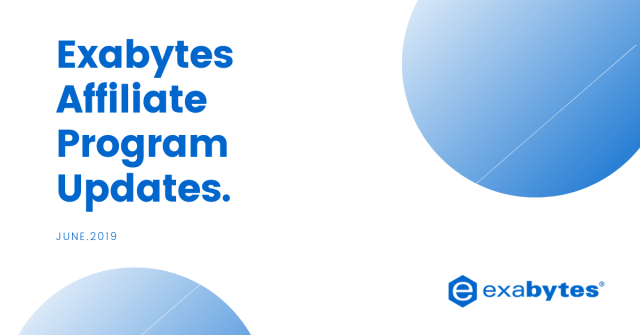 Exabytes Affiliate Program Updates