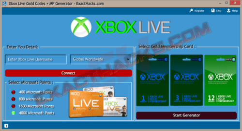 Xbox Live Gold Codes + MP Generator 2018
