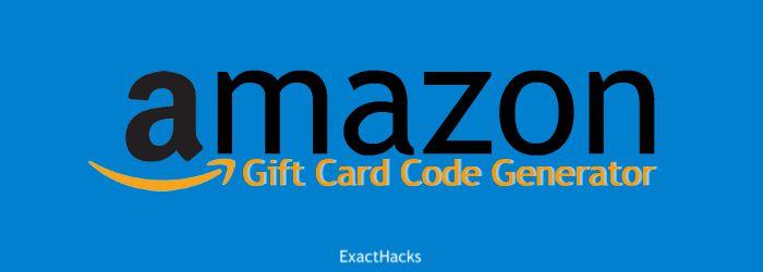 Amazon Gift Card Code Generator 2020