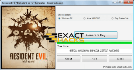 Обитель зла 7 Biohazard CD Key Generator