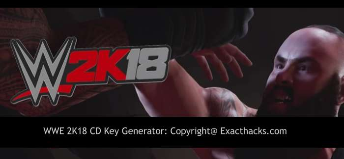 WWE 2K18 CD Key Generator