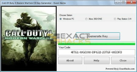 Galatasaray 4 Modern Warfare CD Key Generator
