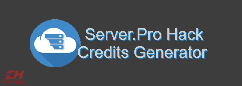 Server.Pro Credits Hack Generator 2019