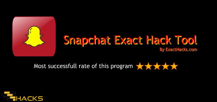 Snapchat esatta strumento Hack 2018