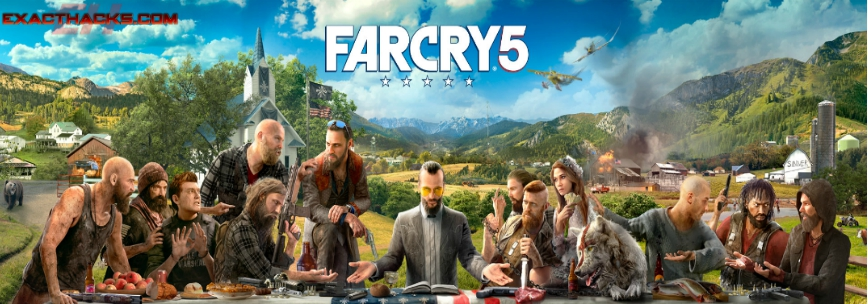 Far Cry 5 Generador claves (Uno-PS4-Xbox utia'al u PC)