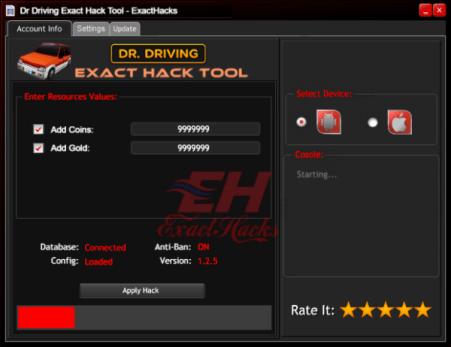 Dr Kjøring Exact Hack Tool