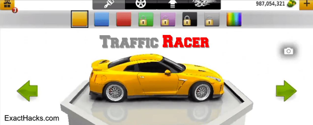 Traffic Racer Mod APK v3.35.0 Paratë Unlimited