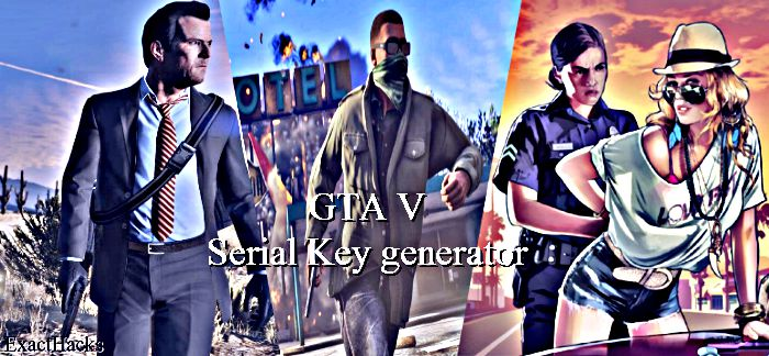 GTA 5 Serial Key Generator Without Survey - Free Game Cheats