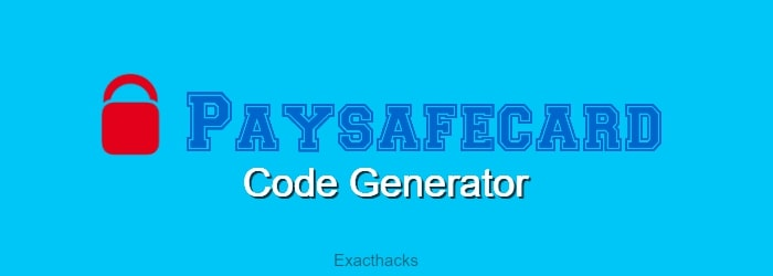 Paysafecard Pin Code Generator 2021+ Codes List