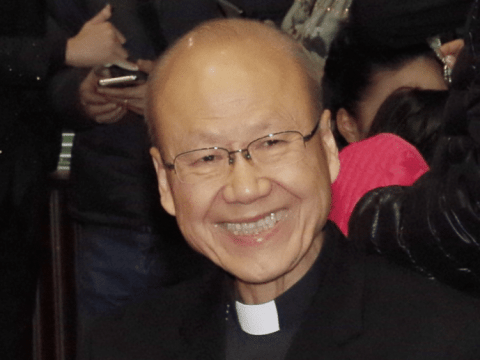 John Cardinal Tong of Hong Kong. Photo: Robi Gallardo
