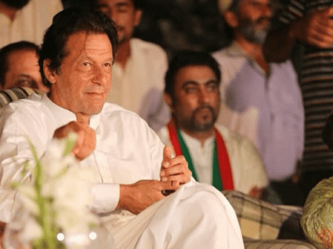 Imran Khan. File photo: UCAN/courtesy of PTI media