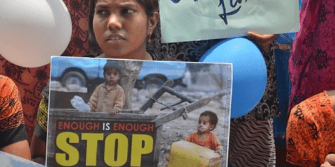 According to the World Health Organisation, up to one billion children between the ages of two and 17 experienced physical, sexual or emotional violence or neglect in 2019. Photo: UCA News