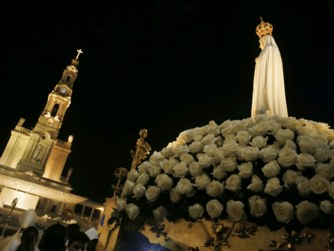 The Marian shrine of Fatima in central Portugal. Photo: CNS/Reuters