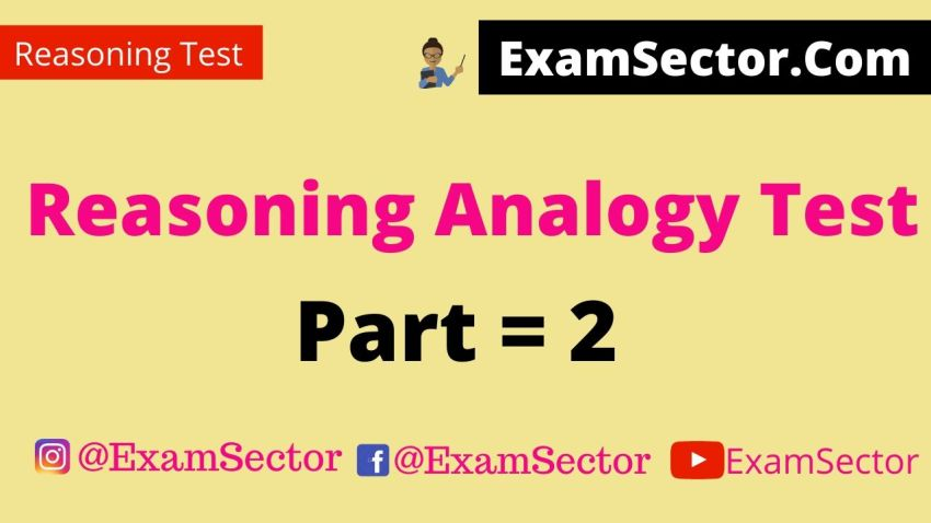 Reasoning Analogy question answer in hindi .
