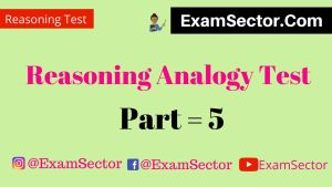 Analogy test reasoning in hindi ,