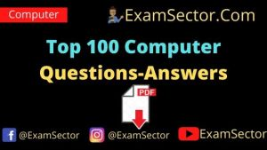 Top 100+ Computer GK Questions and Answers PDF