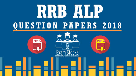 RRB ALP QUESTION PAPERS 2018