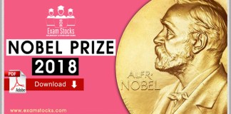 Complete Notes On Nobel Prize Winners 2018 Pdf