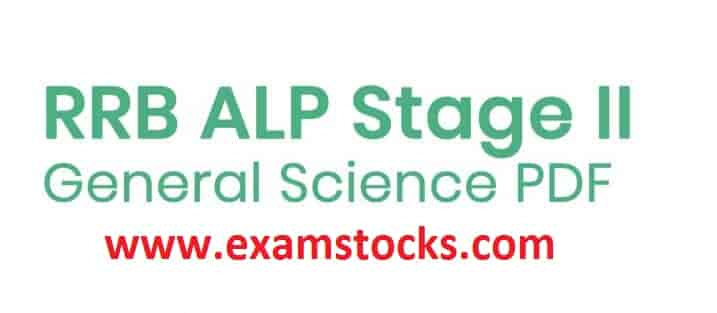 rrb general science pdf in english Archives - Exam Stocks