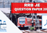 RRB JE Question Papers 2015 Download PDF